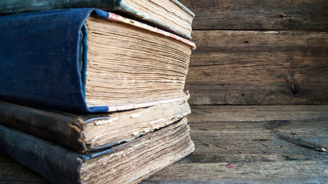 books-and-wood